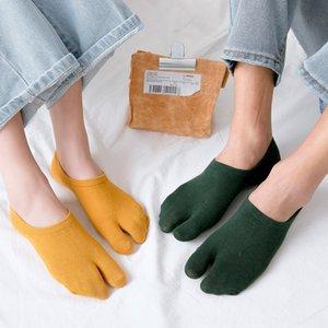 1 Pair WomenMen Unisex Japanese Unisex Kimono Flip Flop Sandal Split Two Toe Sock Women's Underwear Underwear Tabi Ninja Geta Socks