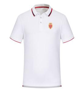 Монако весна и лето новый хлопок футбол поло рубашка мужская с коротким рукавом отворотом поло может быть DIY custom мужская рубашка поло