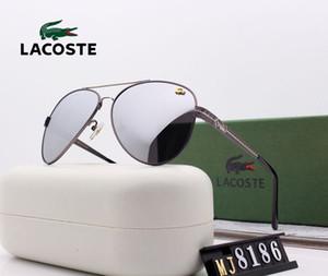 Lunettes de soleil nouveau créateur de mode 2180 de qualité supérieure de grandes ventes de carrés simples sans cadre lunettes de protection UV400 de style populaire