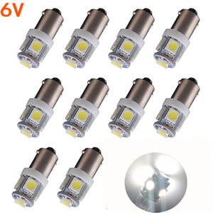100X T11 BA9S 5 SMD 5050 LED 전구 5SMD T4W 1445 Q65B H6W 182 53 57 자동차 라이트 인테리어 전구 웨지 램프 6V