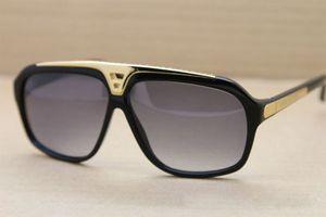 Großhandel-Mode Beweise Sonnenbrille Männer Frauen Markendesigner Retro Vintage Sonnenbrille glänzend Goldrahmen mit Retail-Box und Fällen
