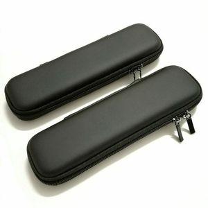 1 Pièce Portable EVA Noir Couleur Stylo Cas Couverture Titulaire École Bureau Papeterie Crayon Poche Écouteur Organisateur stylo Sac