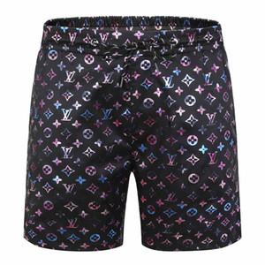 2.020 tecido impermeável atacado SUMME rdesigner calças dos homens praia calções roupas de marca swimwear nylon nadar calções calções desportivos