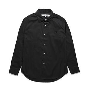 2020 erkek Gömlek moda Uzun kollu Yüksek Kalite Pamuk kadın Gömlek Tees 3 Renkler bayan kazak Altyazı kiraz Japonya Aşk VV5