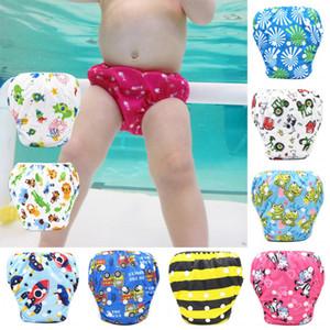 Unisex Bebek Yüzme Pantolon Su geçirmez Ayarlanabilir Swim Bezi Havuzu Pant Bezi Yeniden Yıkanabilir Yüzme Pantolon 9 Renkler