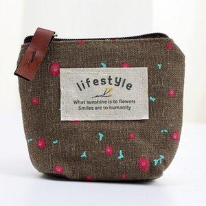 2020 stil Moda kadın Peçete Mini Çanta Fermuar cüzdan Seyahat Anahtar Havlu Kılıfı Pad Sevimli Çanta