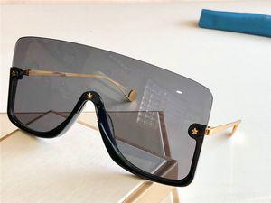 Nuevo diseño de moda las gafas de sol 0540 de la lente conectada tamaño medio gran marco con pequeñas estrellas de vanguardia de alta calidad gafas populares