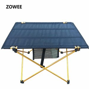 Outdoor Camping Folding Table with Aluminium Alloy Table Waterproof Ultra-light Durable Folding Desk For Picnic& Camping