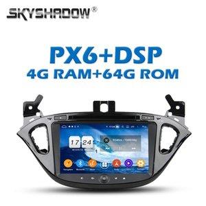 PX6 DSP TDA7851 IPS Android 9.0 + 4G 64Go Lecteur DVD de voiture GPS Google Map RDS Radio wifi Bluetooth 5.0 Pour CORSA 2015 2016