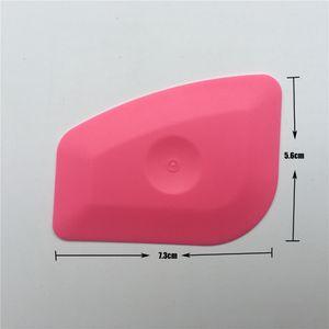 5pcs Lot Foil Squeegee Vinyl Film Car Wrap Auto Home Office Car Film Sticker Install Cleaning Pink Scraper Window Tints Tool
