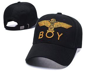 Nuevo Diseño Boy London gorra de béisbol del hip-hop casquette calle ajustable populares de metal sombrero del snapback carta hueso tapas de alta calidad