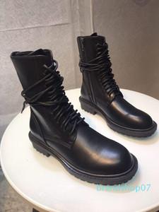 Hot Sale design-ANN DEMEULEMEESTER plat gîté meilleures chaussures de haute qualité des femmes espadrille à lacets cheville Bottines Bottes