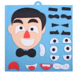 Engraçado Aprendizagem Expressão Facial mutável Artesanato DIY Brinquedos brinquedo educativo Emoção Mudança Early Childhood Figuras presentes