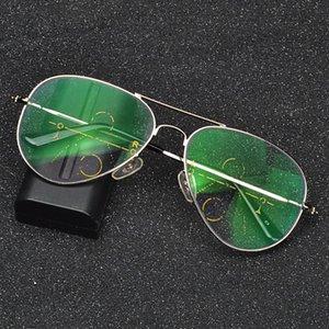 Transição Photochromic Progressive multi Foco óculos de leitura piloto Rodada Multifocal Progressiva dioptria óculos FML