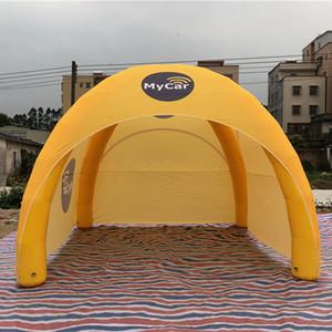 Stile su misura airtigth gonfiabile ragno tenda termosaldato cupola partito Una volta gonfiato utilizzato per settimane evento Canopy palloncino con porte cerniera