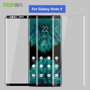 Per Samsung Galaxy Note 9 Glass Pellicola salvaschermo originale MOFi 3D Full Cover protettiva per Galaxy Note9 Vetro temperato