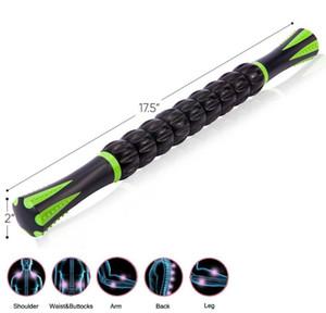 Palla muscolo del Massager Pain Relief Body Massage Stick Yoga Spiky bacchetta Trigger Point rullo di massaggio 5 palle anti Massager delle celluliti