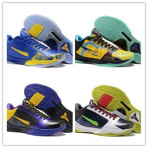 2020 Hot Vente Zoom Protro V 5 Bryants le jour du repêchage Hornets Carpe Diem Del Sol Sport Basketball Chaussures Hommes ZK5 Sports Chaussures de sport aux États-Unis 40-46