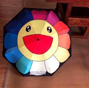 Smile Face Sunshade Sunflower Автоматический складной солнцезащитный зонт-зонтик Бренд-зонтик