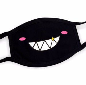 Cartoon expression pure cotton masks cute warm protective face mask personality funny mask Personality mask N15