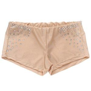 Danza escenario de funcionamiento especial para las mujeres polainas América Safety Dance Pantalones Damas desnuda vientre polainas Calzoncillos muchacha para