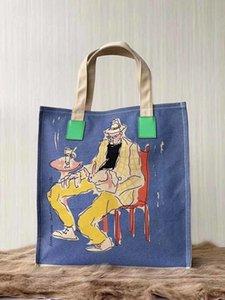 lüks tasarımcı çanta çanta Gucy çanta çanta müzesi alışveriş çantası seçecekleri alışveriş torbaları 2019 yeni stil cüzdan torbayı tuvaline