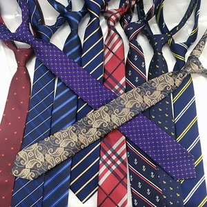 Fashion Men Skinny Ties Jacquard Woven Classic Handmade 6cm Neckties For Wedding Casual and Business Brand Quality Cravat