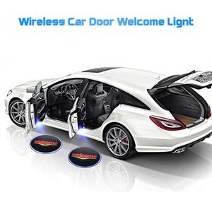 Commercio all'ingrosso del portello di automobile del proiettore di luce Logo Benvenuti ha condotto la lampada della luce dell'ombra del fantasma per il Giappone Germania USA UK Car Brand