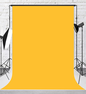 케이트 노란색 단색 사진 배경막 추상 텍스처 세로 배경 어린이 베이비 샤워 생일 파티 장식의 백 드롭