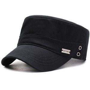 2020 Новый Duck Tongue Hat Men'S Весна Лето Осень Зима Four Seasons Бейсбол Visor Flat Top Military Hat ВС Hat Открытый Tra RWkSB