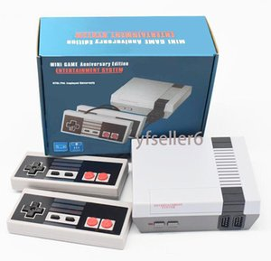 Mini TV can store 620 500 Game Console Video Handheld for NES games consoles with retail boxs dhl Free Shipping