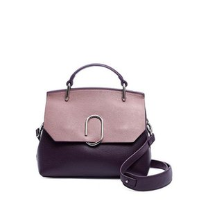 Belle2019 The Take Hundred Hand Handbag Shell Woman Concise Atmosphere Single Shoulder Span Package Genuine Leather Bag