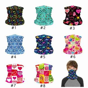 Детская маска для лица детская защитная маска открытый Велоспорт волшебный шарф бандана повязка банданы тюрбан ZZA2377 300 шт.