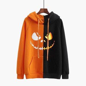 Women Hooded Halloween Costume Hoodies Jumper Pullovers Tops Autumn Winter Long Sleeve Casual Sweatshirts Sudadera Mujer