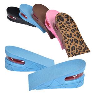 1 par de sapatos palmilhas respirável meia palmilha Eleva Heel Shoes Inserir Sports Pad Almofada Unisex cinco centímetros Altura Aumento Palmilhas
