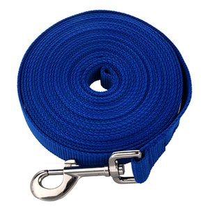 Blue 20FT Long Dog Puppy Pet Puppy Training Obedience Lead Leash