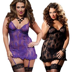 S-6XL Neue 2016 Europa Und Große Größe Dessous Sexy Perspektive Mit Spitze Strumpfbänder Fantasien Sexy Erotik Body Stocking Frauen