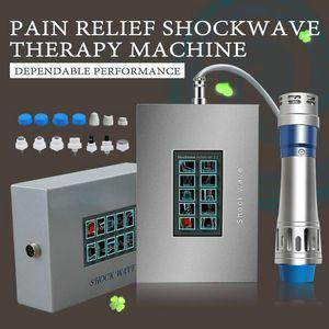 2020 Portable Shockwave macchina di terapia di onde d'urto Terapia del dolore Body Massage Treatment ED Shock Wave dispositivo di uso della casa