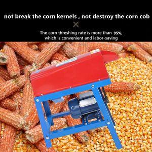 El cultivo del maíz de maíz máquina trilladora pelador eléctrico maíz en grano de la mazorca de trilladora Stripper máquina trilladora Herramientas