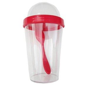 350ml Mugs Yogurt Container with Spoon Ice cream cup Water Bottle Drinking Bottles School Office Drinkware Tea Milk Juice