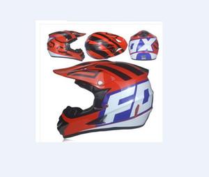 FOX personnalité fraîche moto couverture complète casque hors route mâle respirant quatre saisons route universel course descente casque DH femme