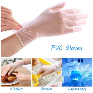 Startseite Einweghandschuhe PVC Reinigung Lebensmittel Handschuhe Universal-Haushalt Garten Reinigung Elastic Handschuh Touch Screen Prevent Handschuhe BH3290 TQQ