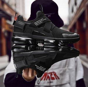 Chaussures Moda Tasarımcısı Ayakkabı Eğitmenler Beyaz Siyah Elbise De Luxe Sneakers Erkek Kadın Ayakkabı çalışan toka Toptan Bir pedal Yukarıya