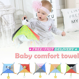 Baby Comfort Handtuch Weiches Plüschtiere Plüsch Sicherheitsdecke Soothing Kinder Spielzeug
