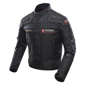 Motorcycle Jackets Off-Road Oxford Cloth Equitação da motocicleta Moto Racing Jacket Men Moda de Duhan Cinco Clothes Protector