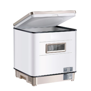 BEIJAMEI 2019 New Hot Dishwasher Household Automatic Desktop Independent Embedded Intelligent Sterilization and Drying Installation free