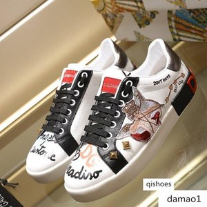 New Women's Shoes PORTOFINO SNEAKERS BY EMIS KILLA luxury designer shoes women's sneakers Top Quality Casual fashion Size 35-41 wi