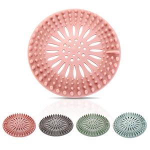 Silicone Sink filtro de Banho Cozinha esgoto do Filtros anti-entupimento Duche tampas de esgotos Cozinha Casa de banho Acessórios HHA1308