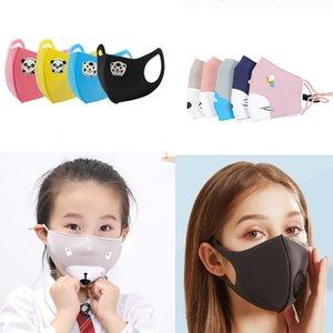 ppe enfants mix masque adultes fond rouge masque avec filtre de masque pliant Valve Anti Respirato anti-poussière PM2,5 unique pack cartoon enfants