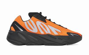 2020 Kanye West 700 MNVN Turuncu Koşu Ayakkabı 700 MNVN Kemik Üçlü Siyah 3M Yansıtıcı Erkekler Kadınlar Sneakers Ücretsiz Kargo Size36-46